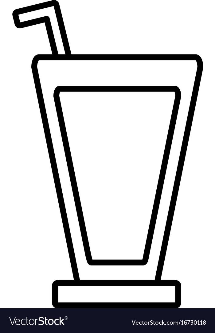 Soda drink icon