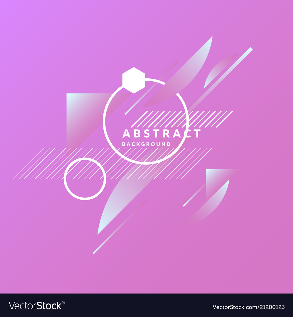 Abstract geometric background with triangles in a