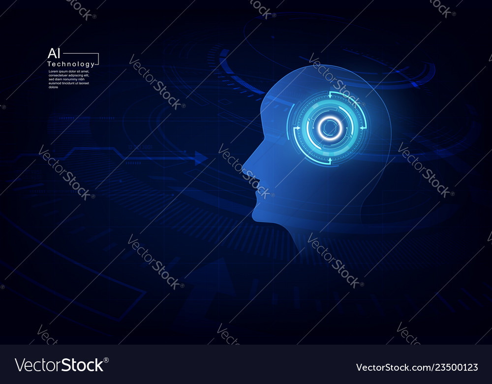 Artificial intelligence ai digital technology in