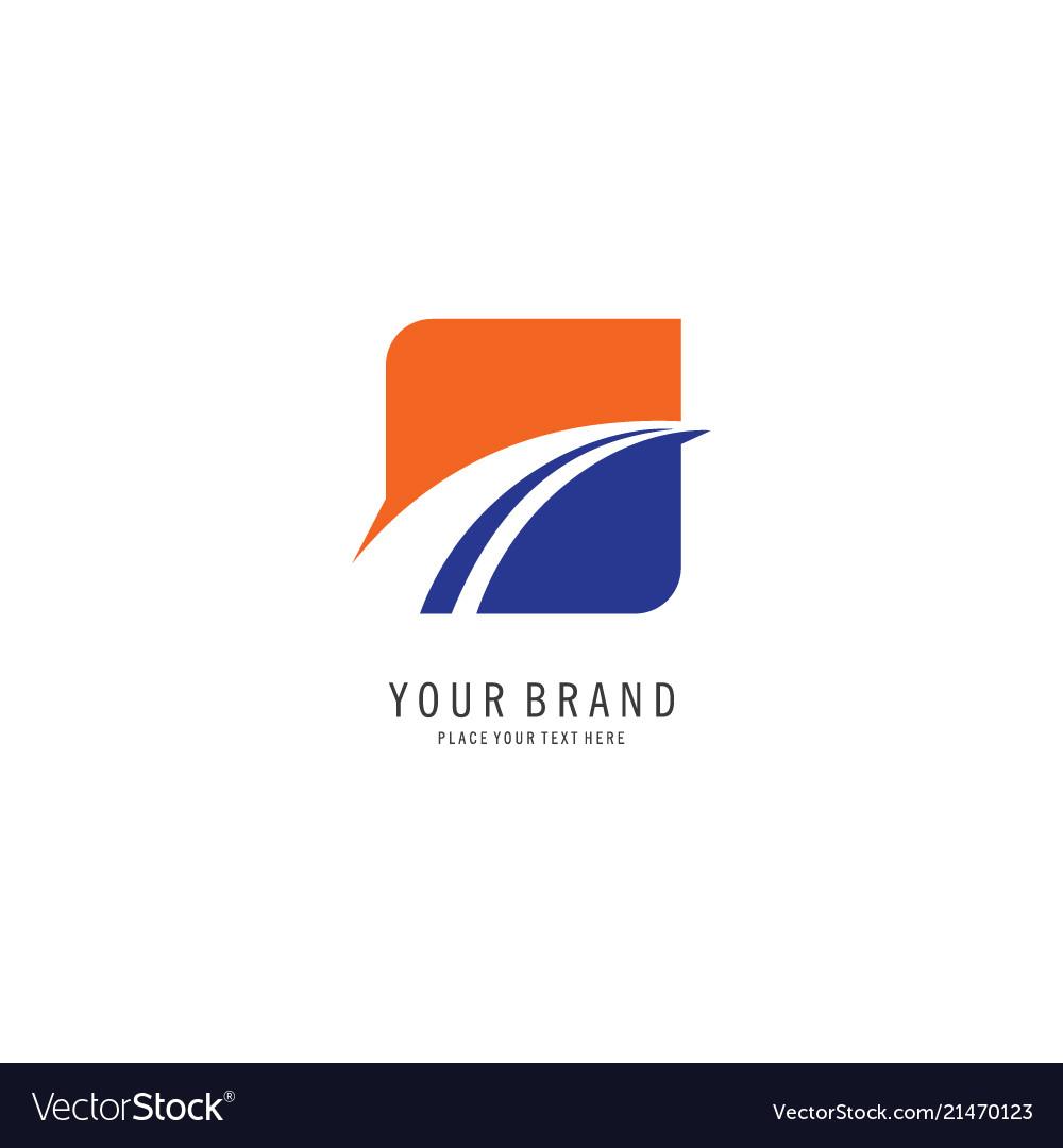 Square finance symbol logo