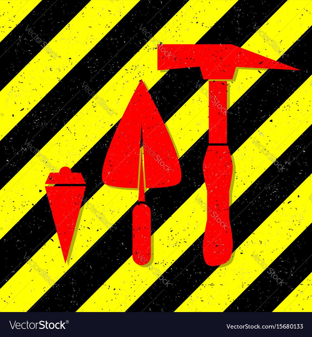 Construction works symbol