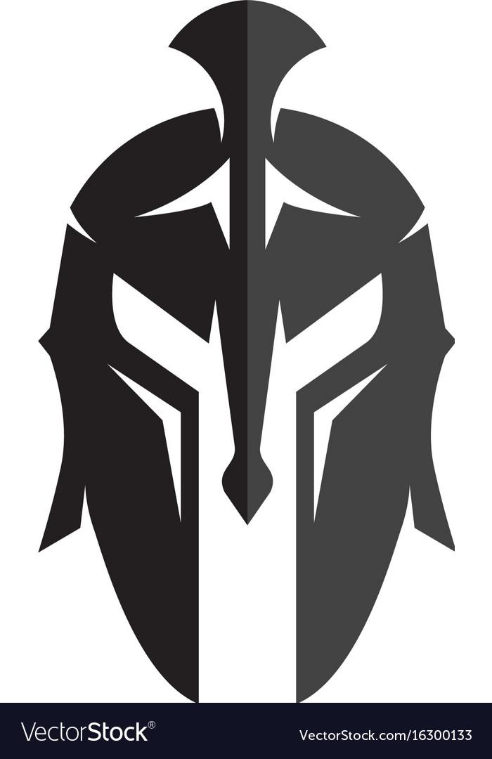 spartan helmet logo meaning vector and clip art inspiration. Black Bedroom Furniture Sets. Home Design Ideas