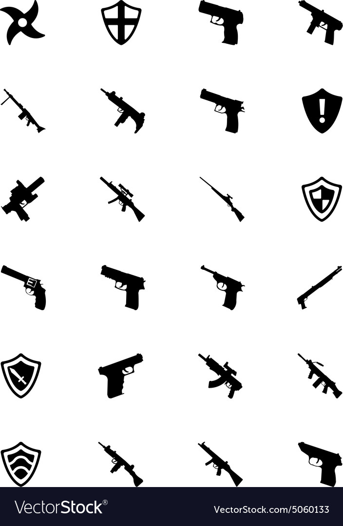 Weapons icons 3