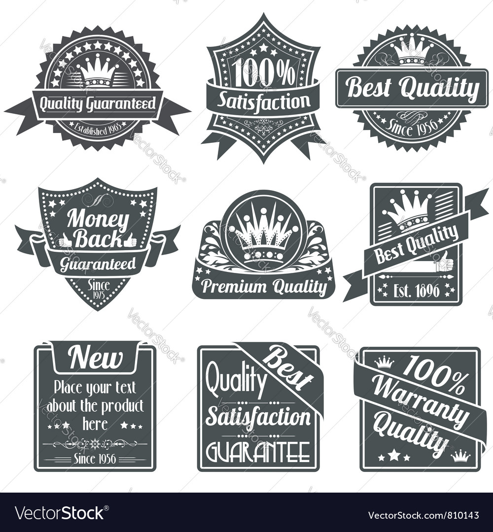 Best Quality and Guarantee Labels