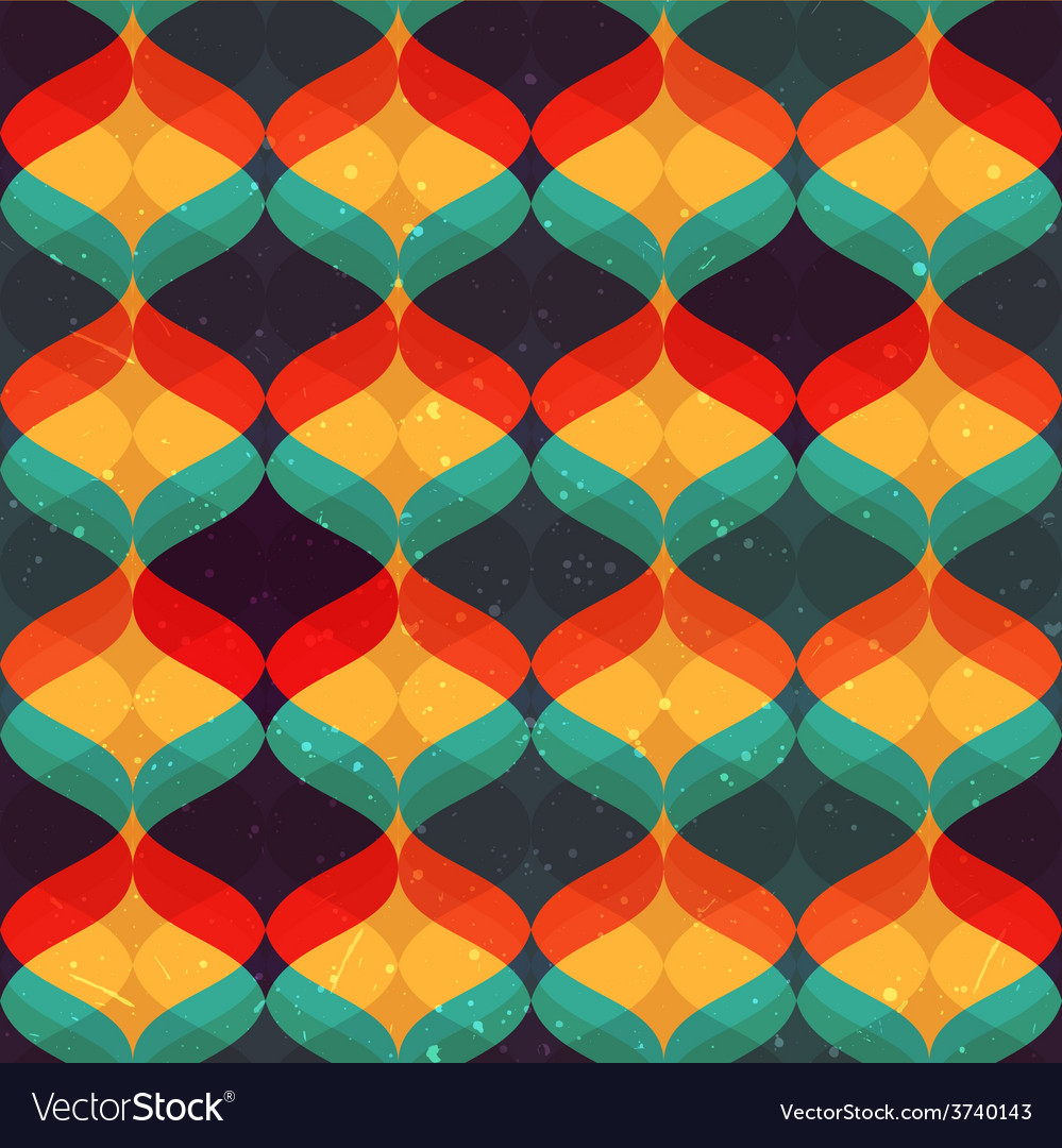 Colorful abstract pattern Seamless