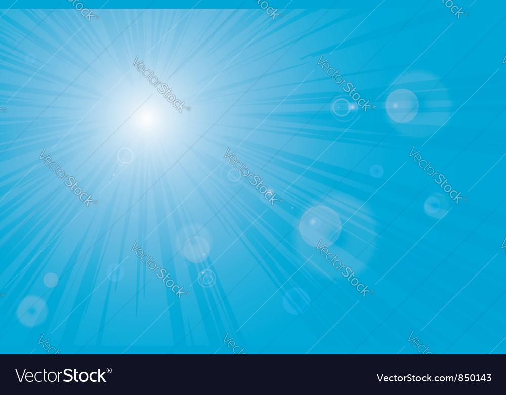 Sunburst sun flares
