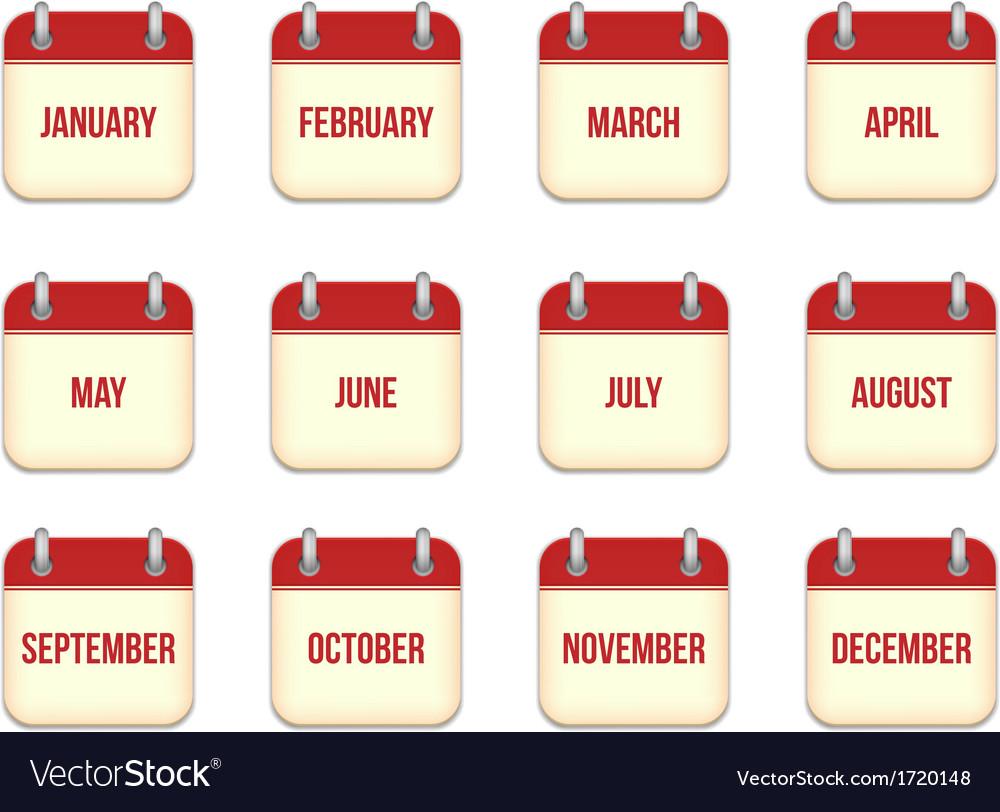 Calendar app icons