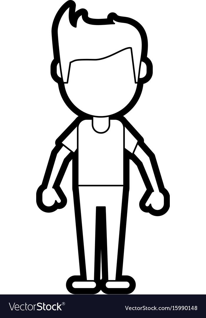 Man avatar icon image