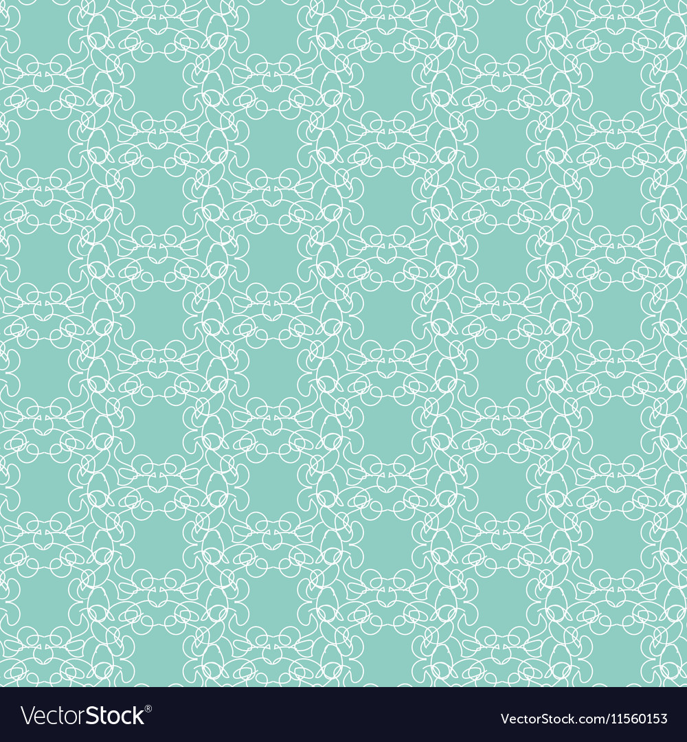 Floral different seamless pattern vector image