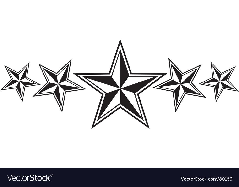 nautical stars royalty free vector image vectorstock rh vectorstock com stars vector background stars vector background