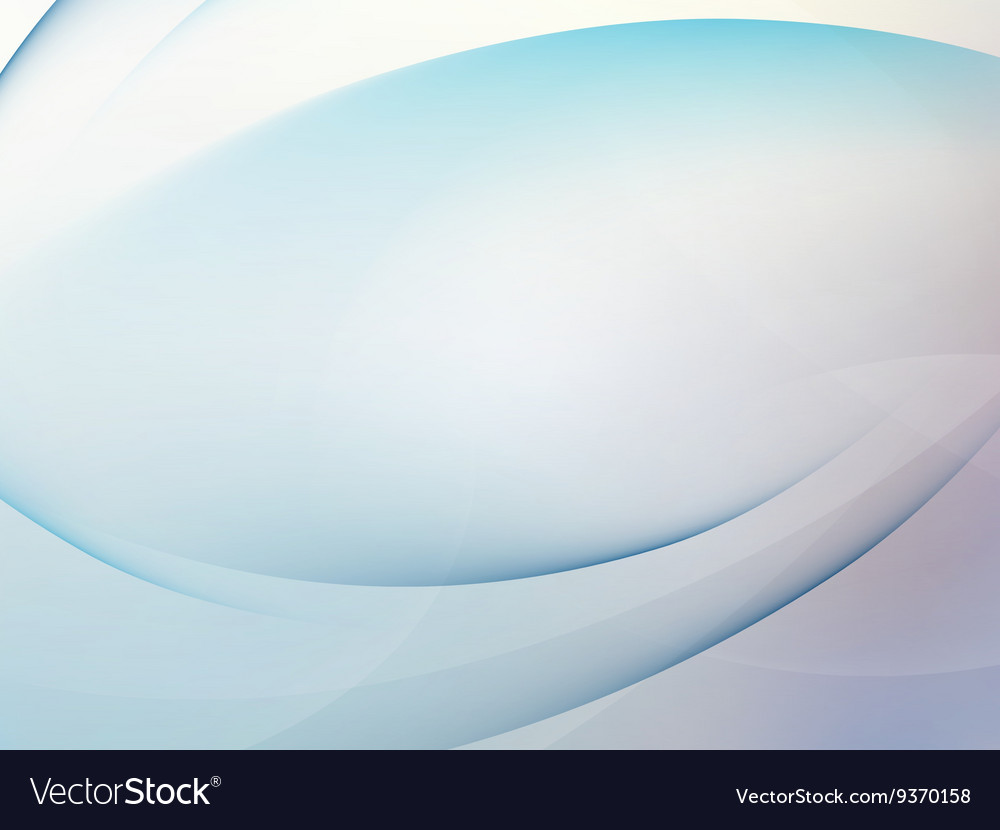 Abstract blue background with smooth lines EPS 10