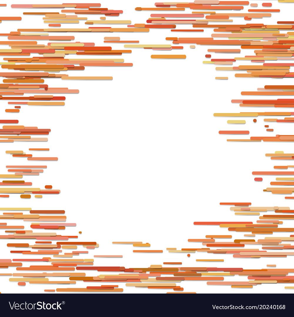 Abstract irregular horizontal stripe background vector image