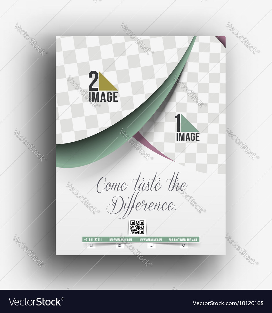 restaurants advertising posters cake vector images 51