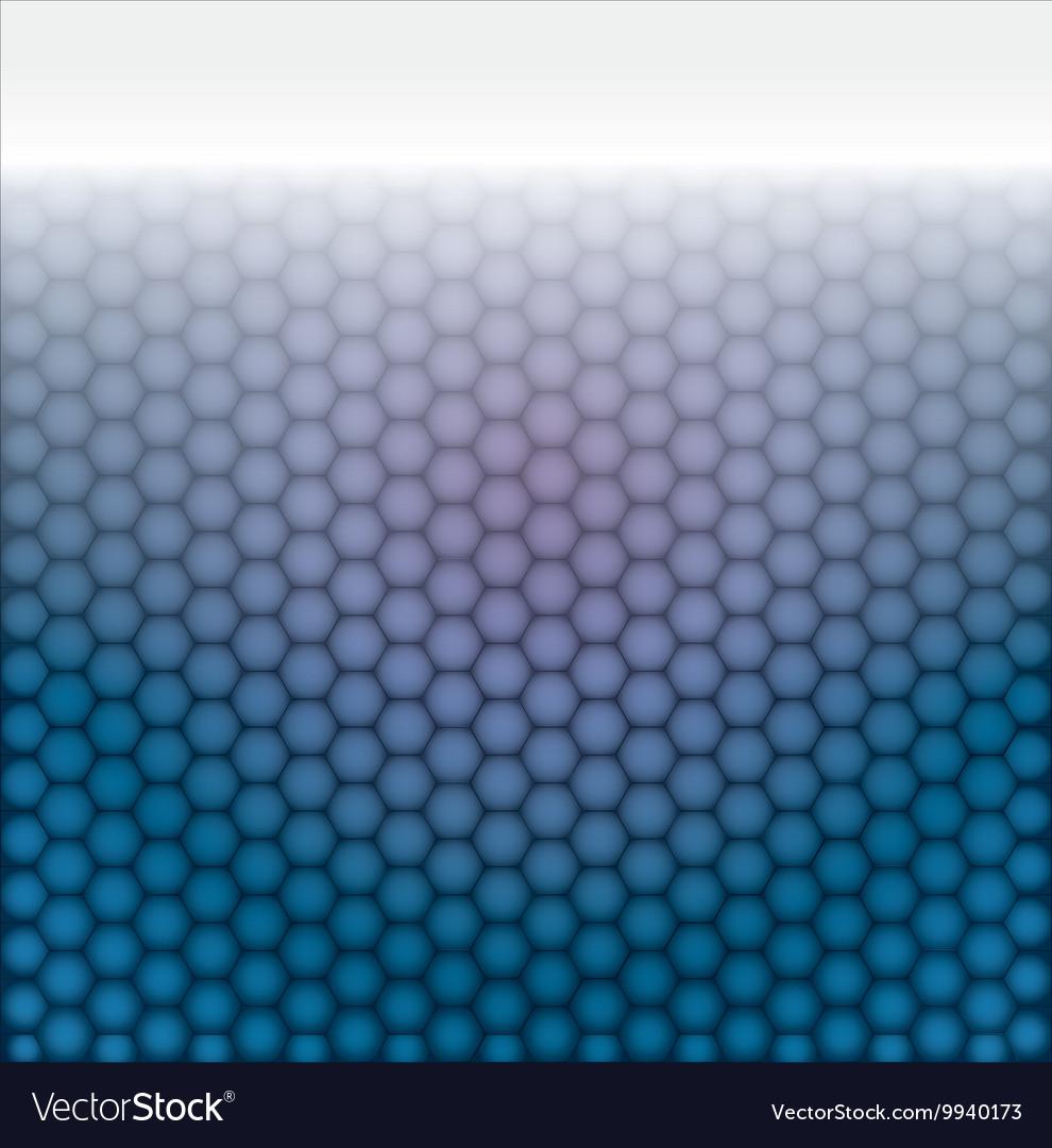 Geometric pattern of hexagons