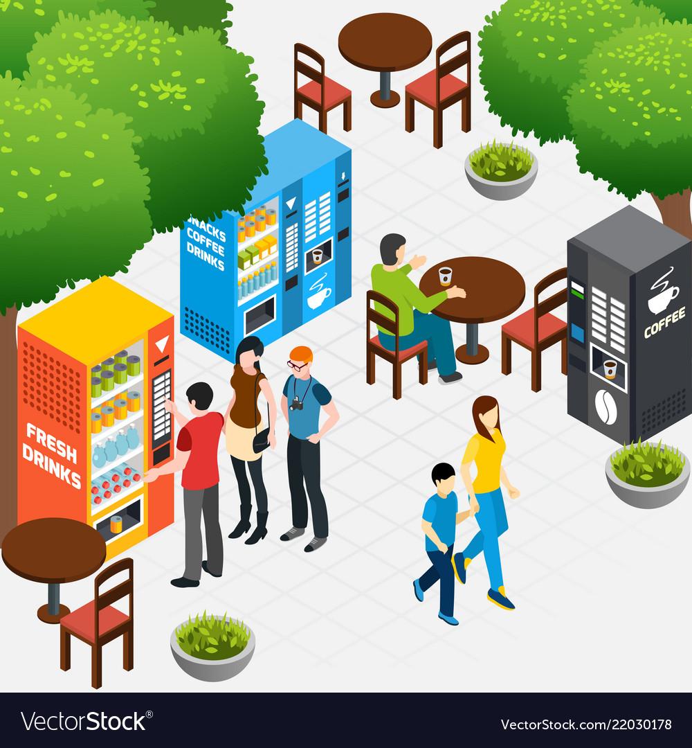 Vending machines composition