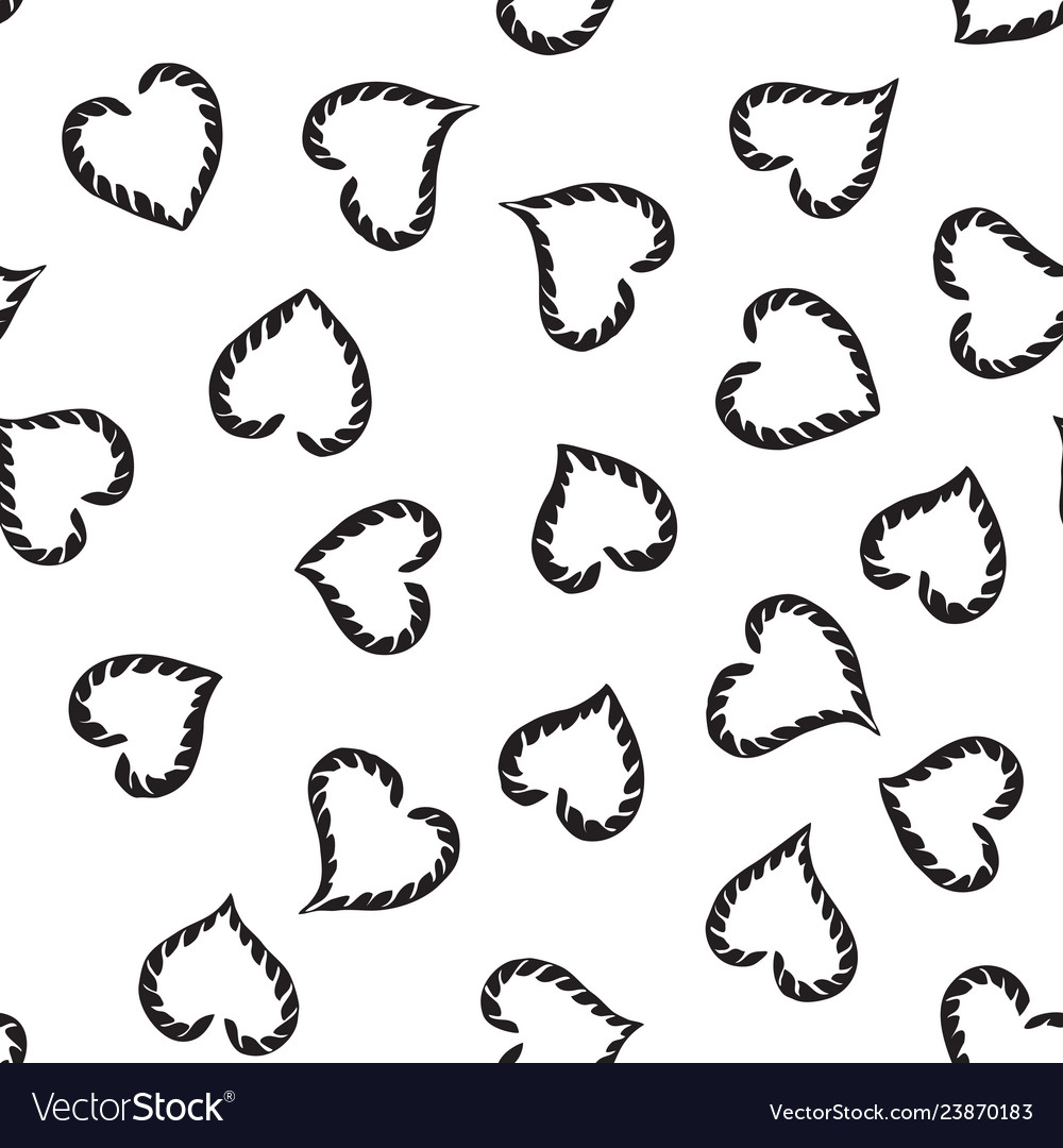 Abstract seamless heart pattern can be used for