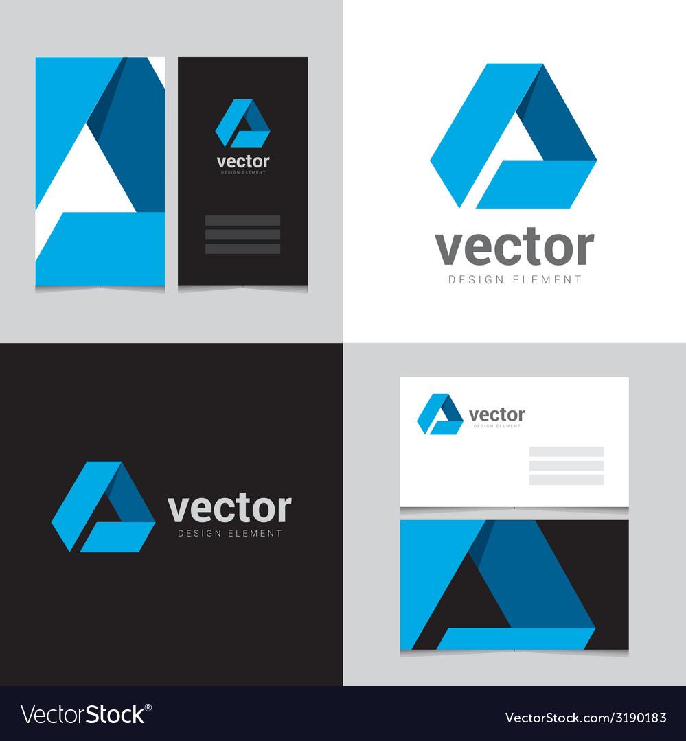 Logo design element 01 vector image
