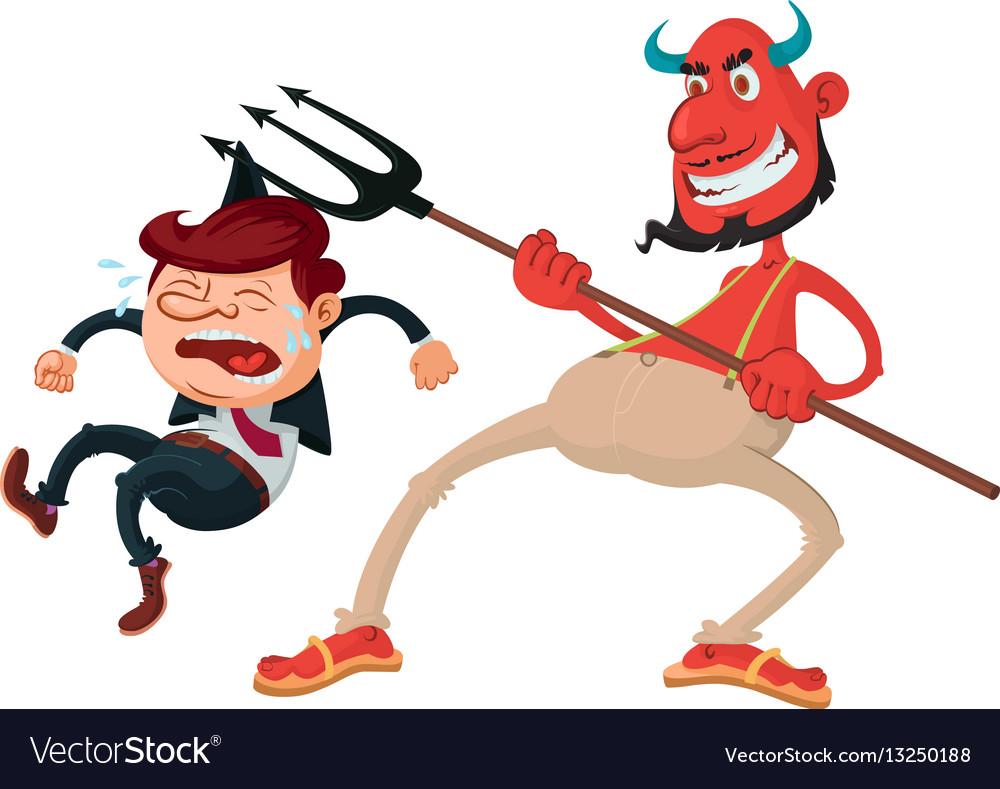 Devil and sinner