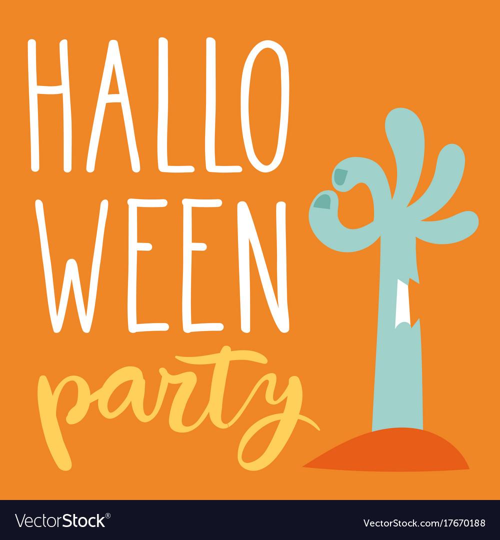 Halloween party celebration invitation cards vector image stopboris Images