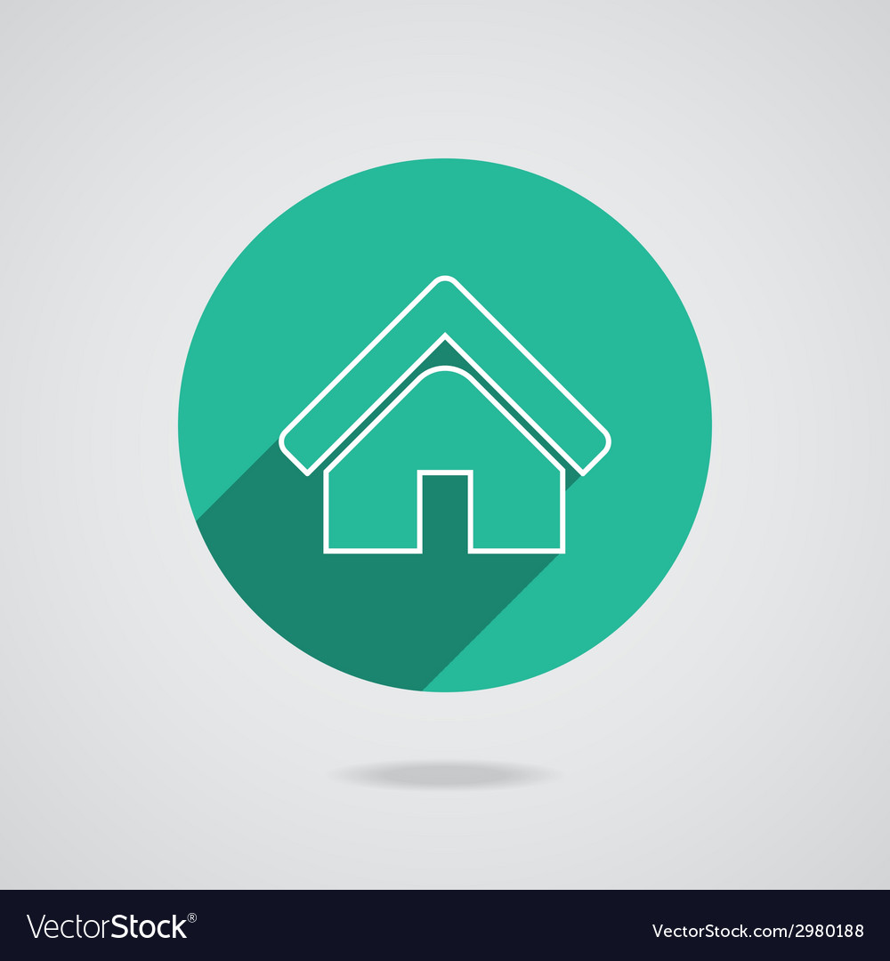 House abstract real estate countryside logo design