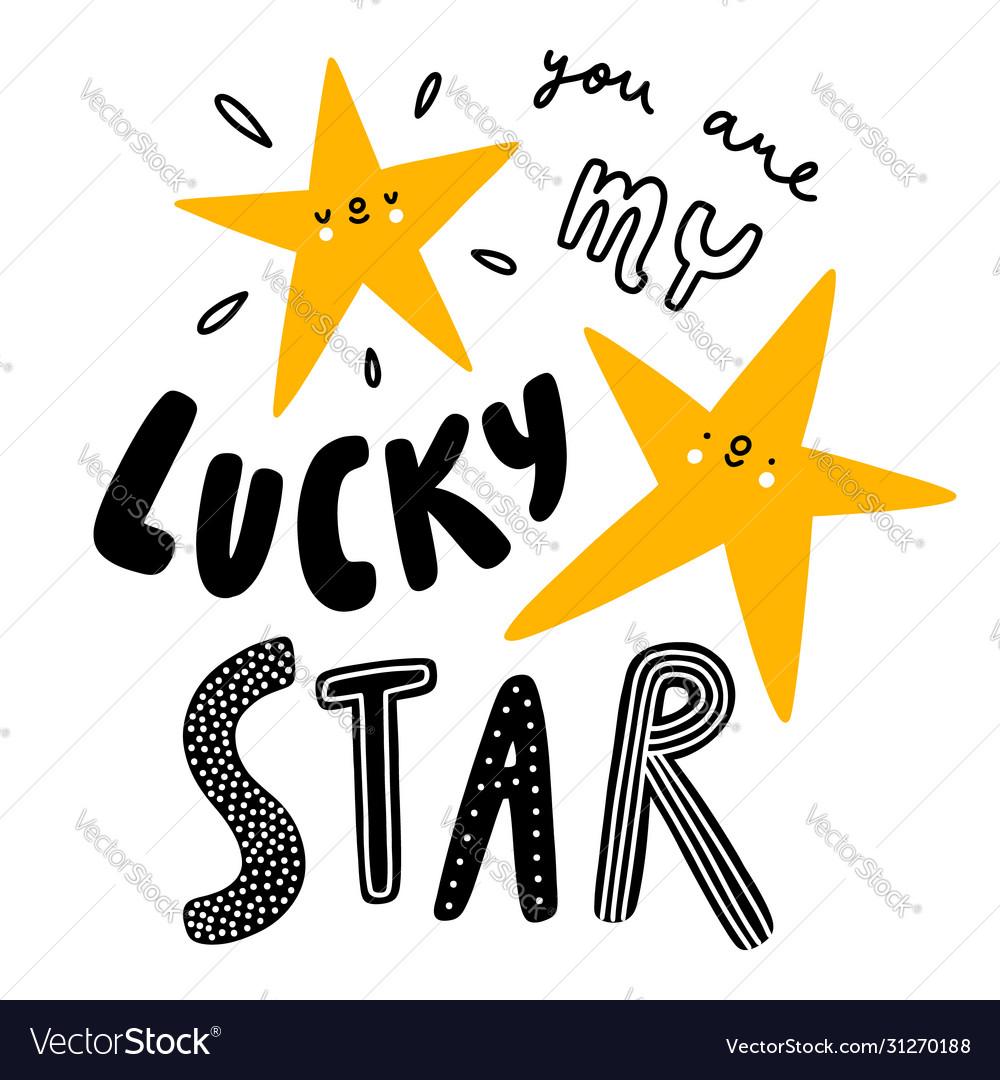 You are my lucky star nursery