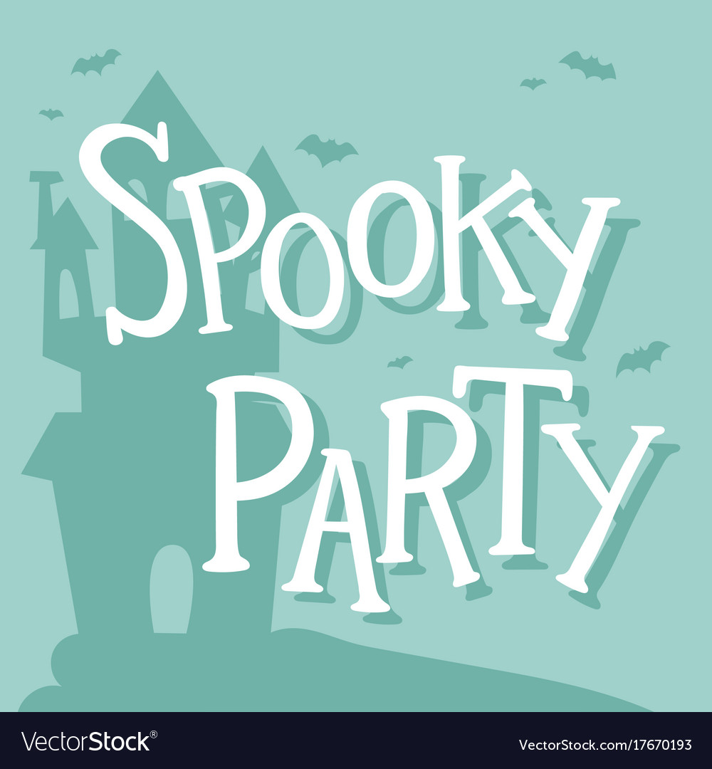 Halloween Party Celebration Invitation Cards
