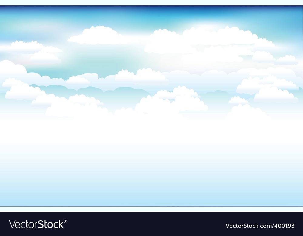 Sky and clouds scene