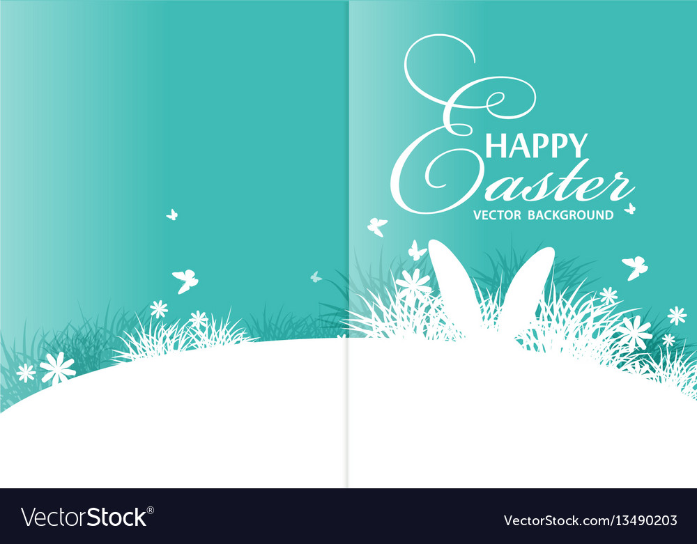 Background for easter vector image