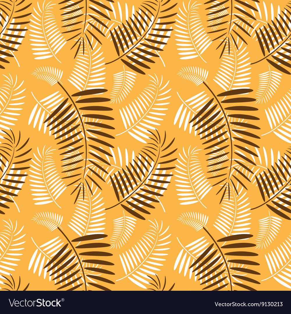 palm tree leaves pattern royalty free vector image