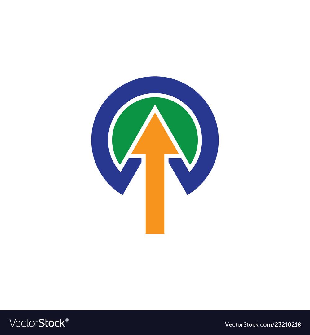 Arrow logo business