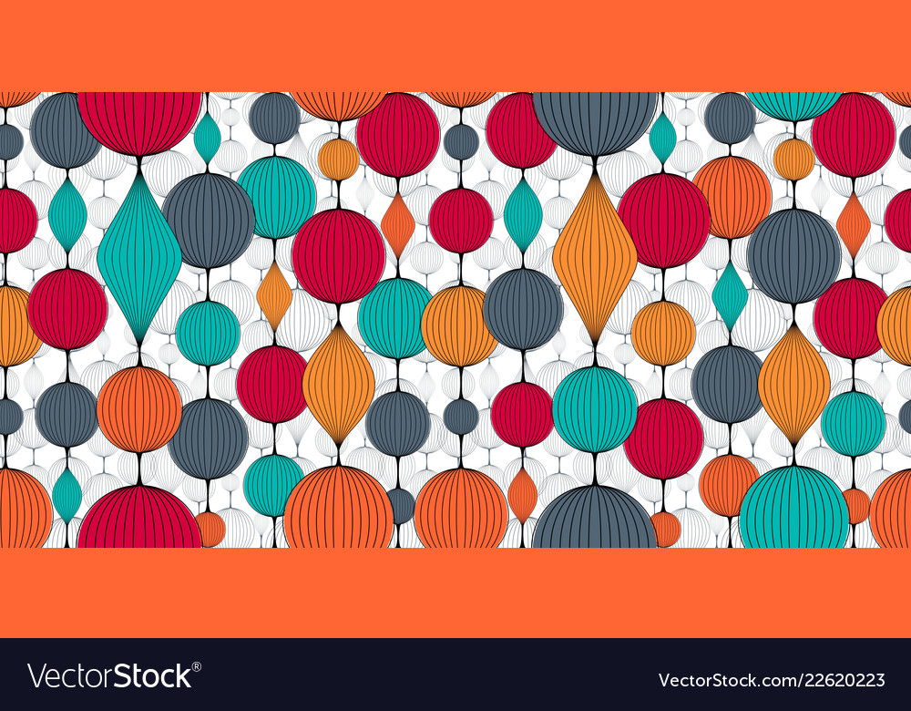 Seamless Abstract Wallpaper Pattern Colorful