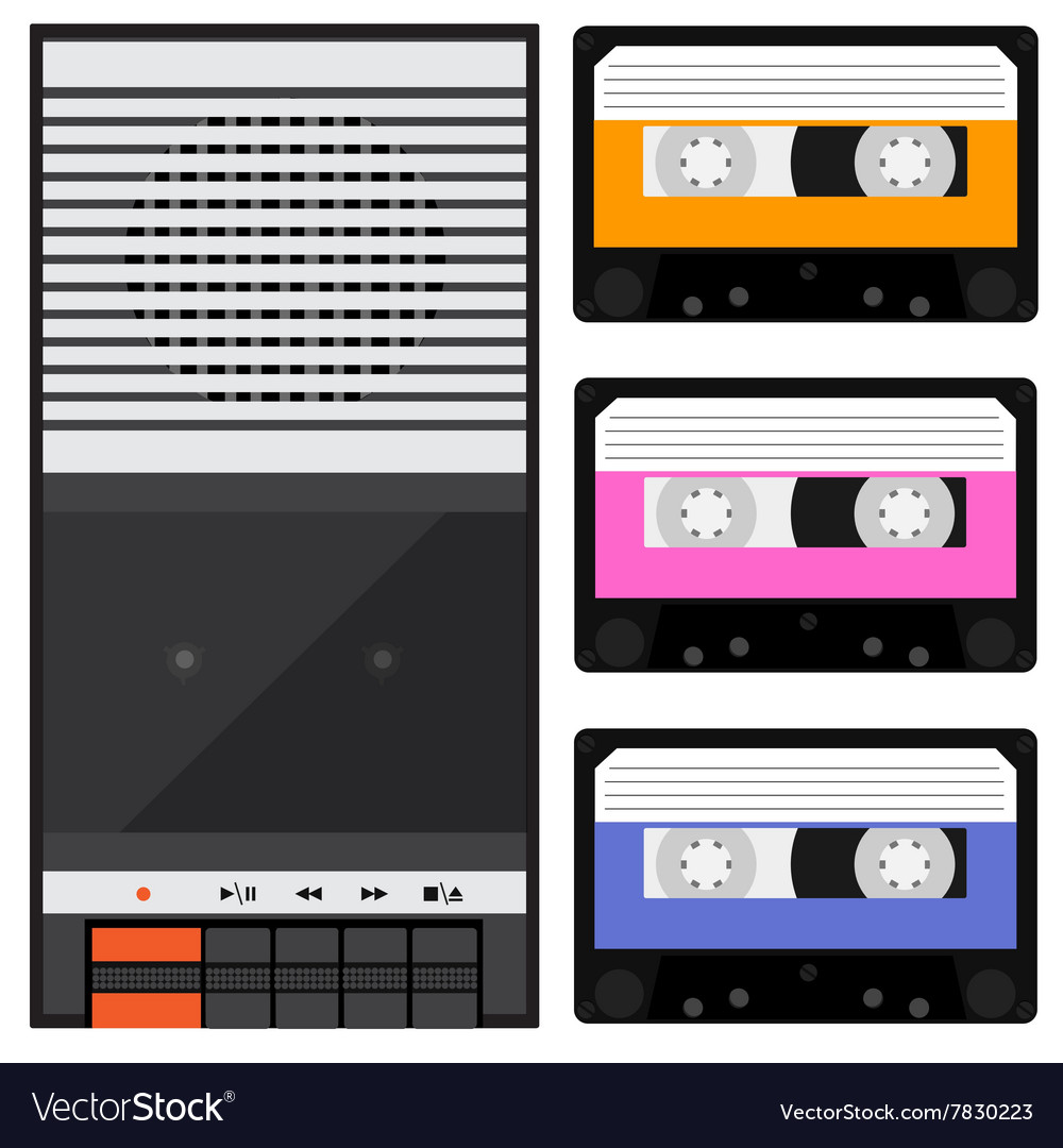 Tape recorder and cassette