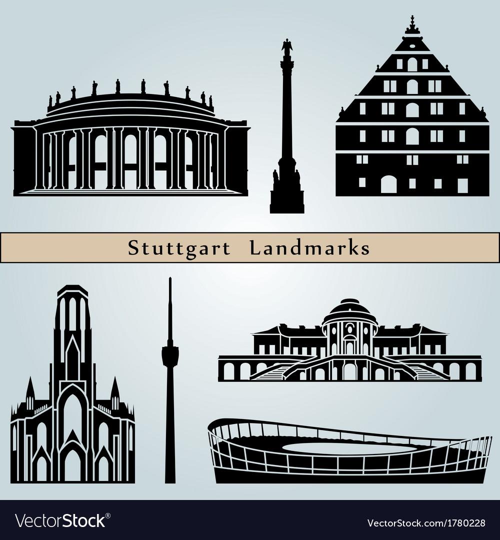 Stuttgart landmarks and monuments