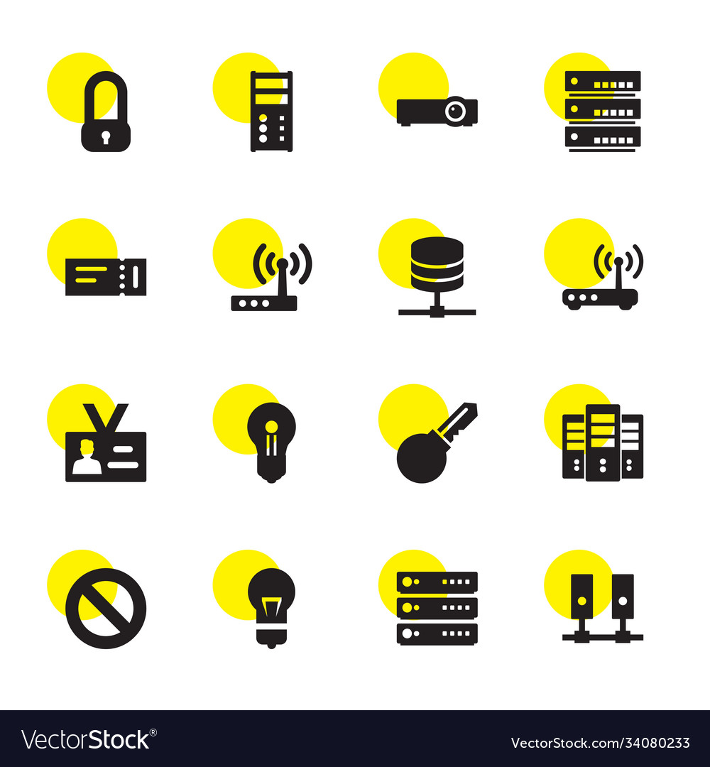 16 access icons