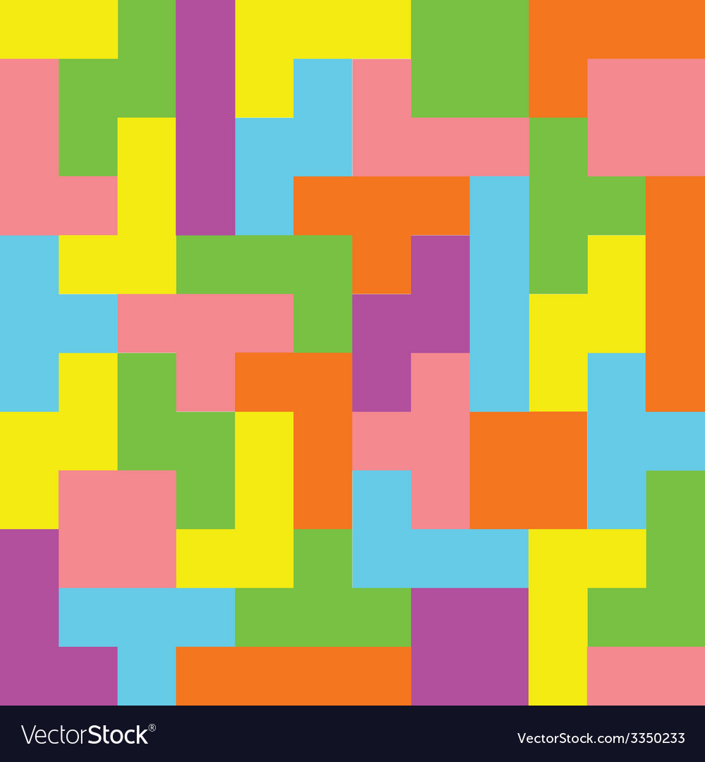 Pixel game seamless pattern vector image