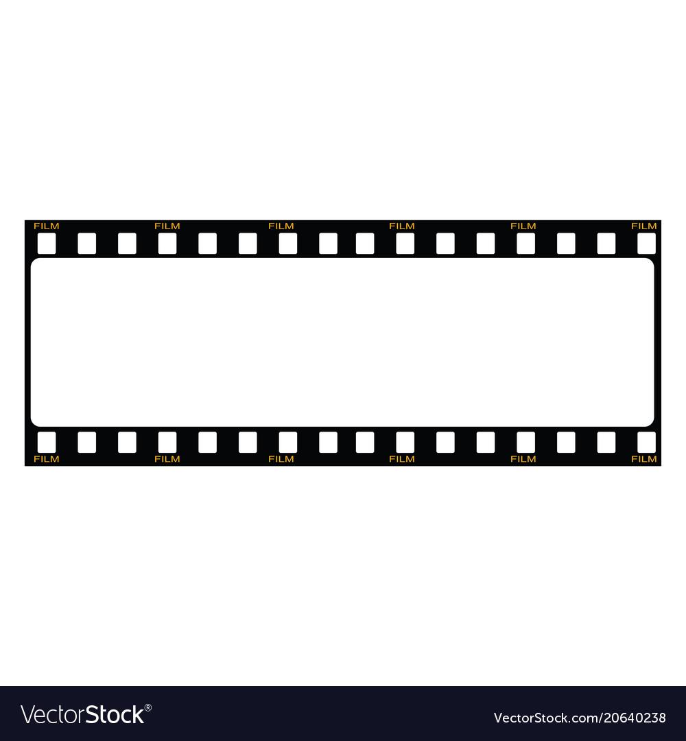 Blank film frame stock image of fram