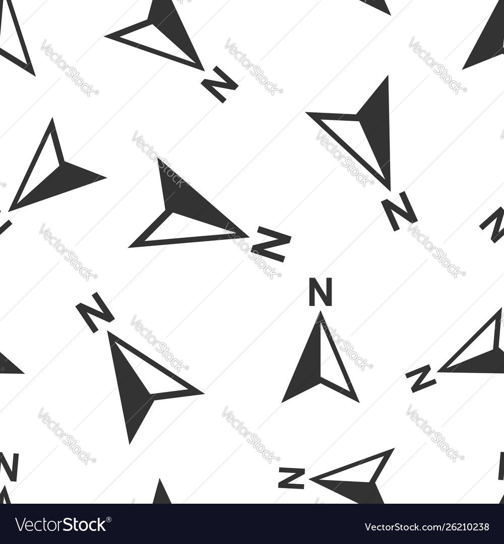 Global navigation icon seamless pattern