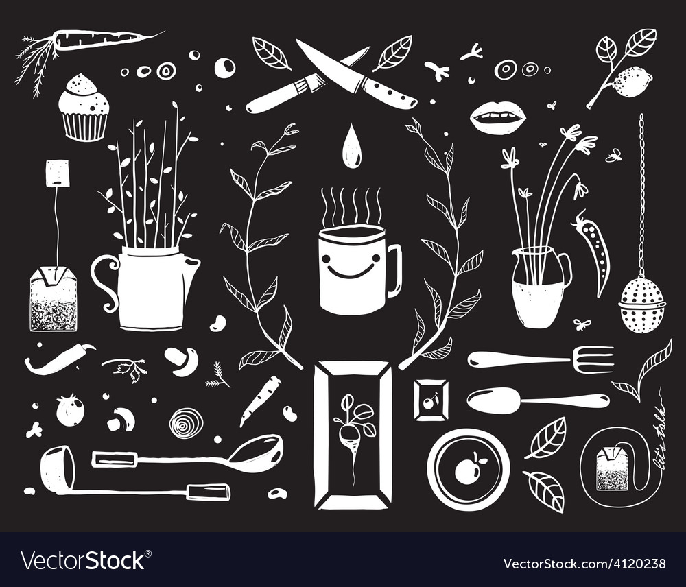 Kitchen Food and Drinking Tea Cosy Design Elements