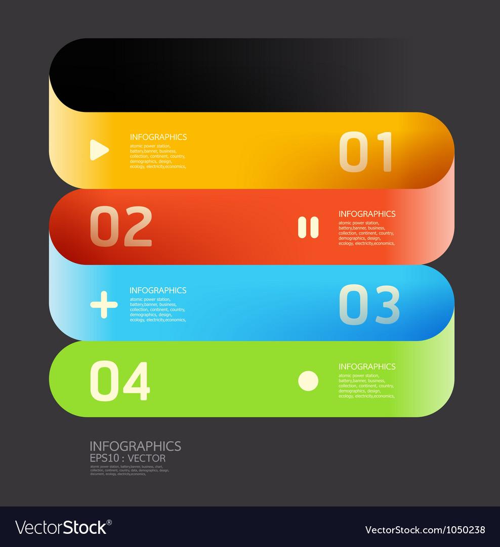 Modern Curve color Design template