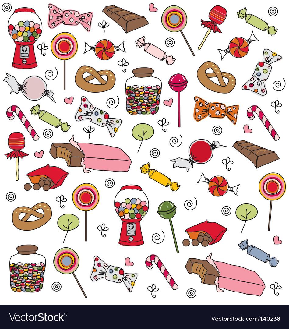 Sweets pattern