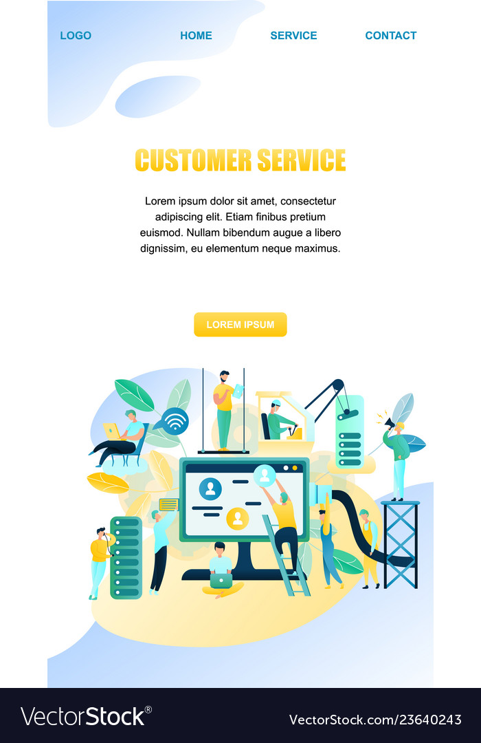 Banner people customer support worker