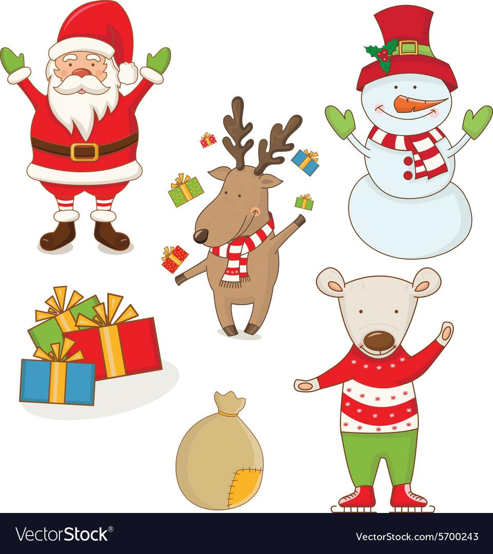 Christmas Images Free Cartoon.Cartoon Christmas Characters
