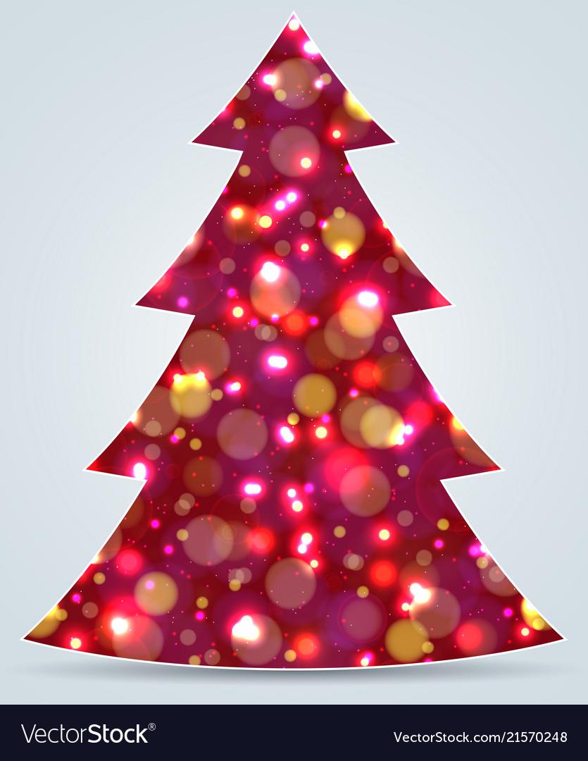 Christmas tree new year decoration