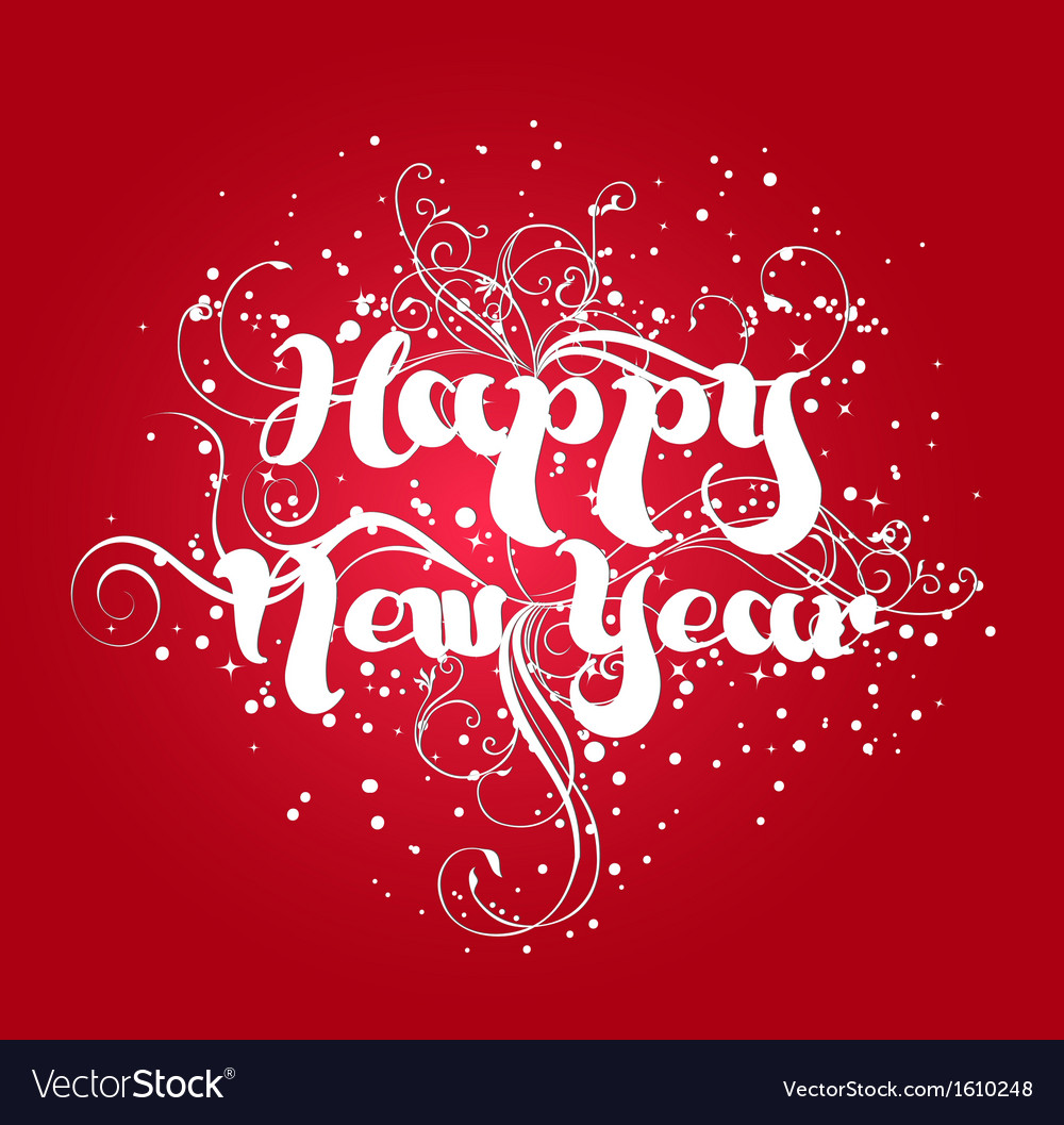 happy new year 2014 royalty free vector image vectorstock