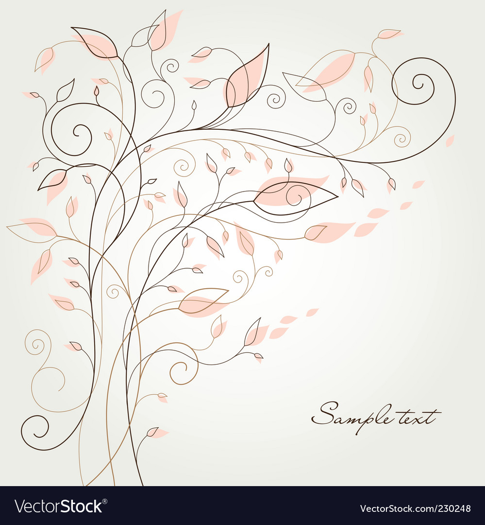 Swirl flourish