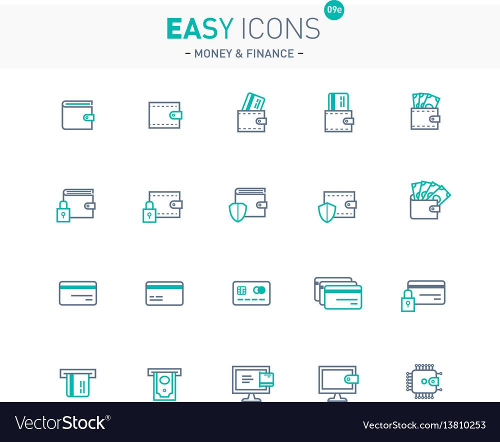 Easy icons 09e money