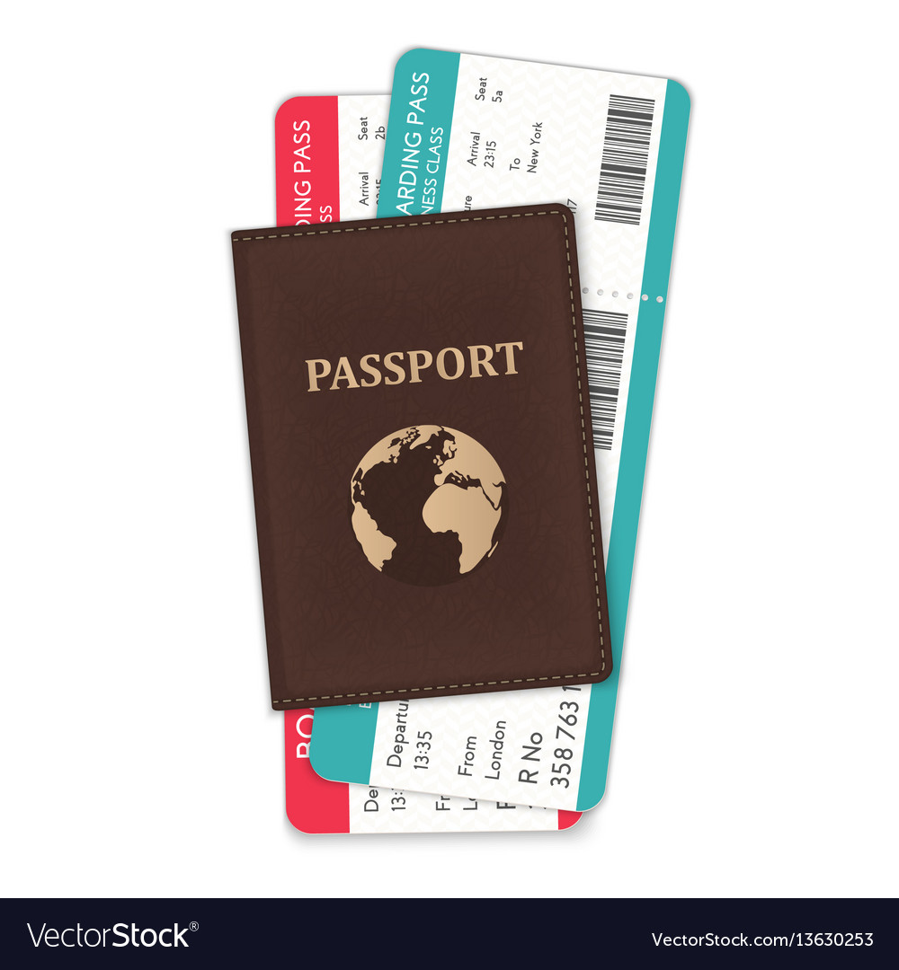 The of the passport and the