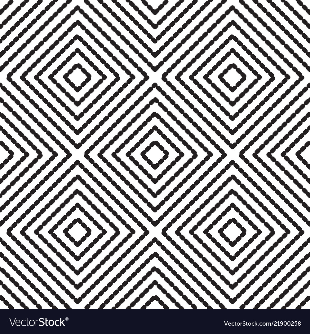 Abstract seamless pattern with rhombus