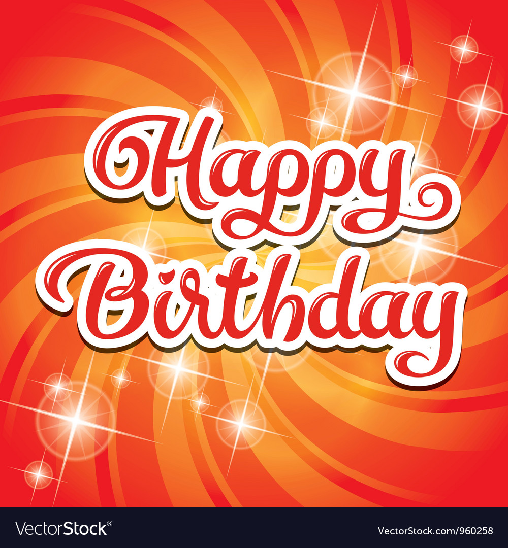 Birthday card inscription
