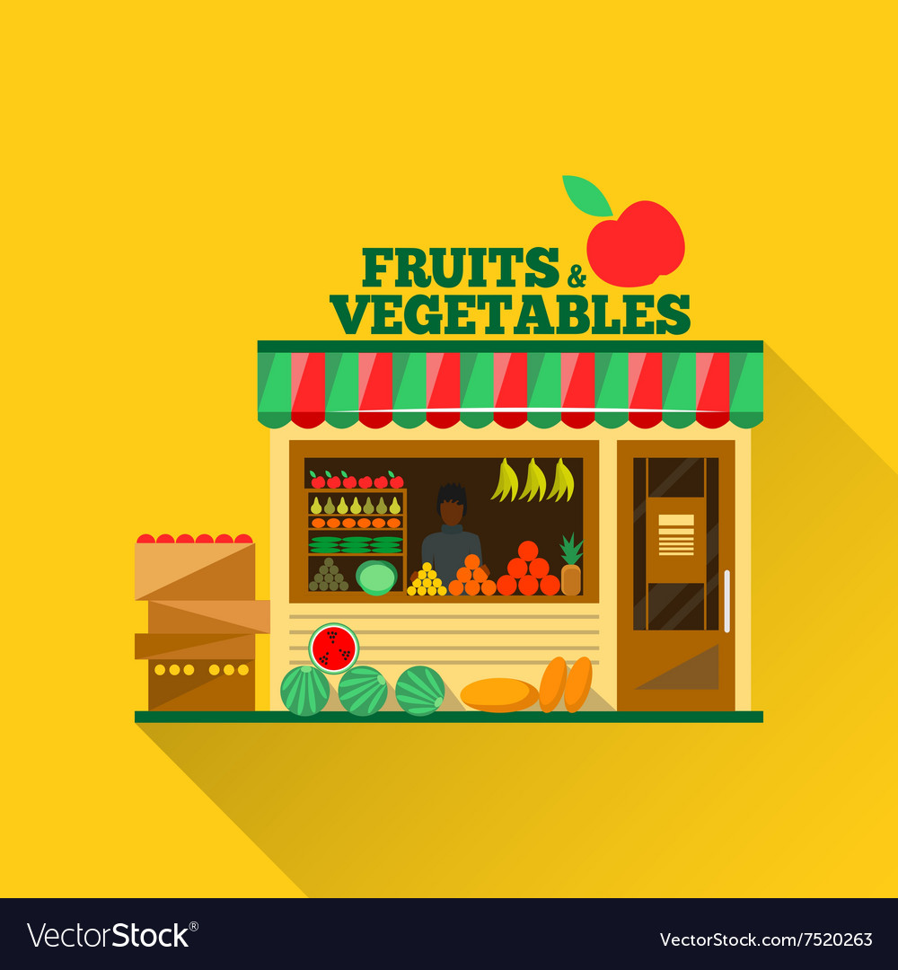 Fruits and vegetables shop